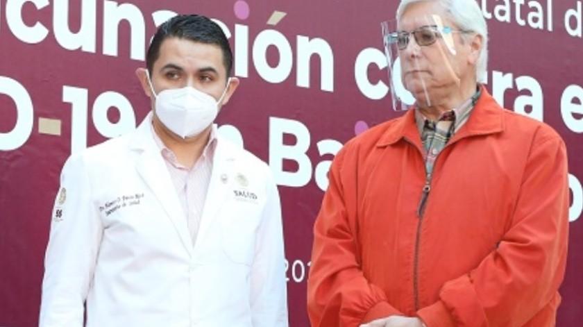 Todos deben unirse en vacunación contra Covid: Jaime Bonilla Valdez(Cortesía)