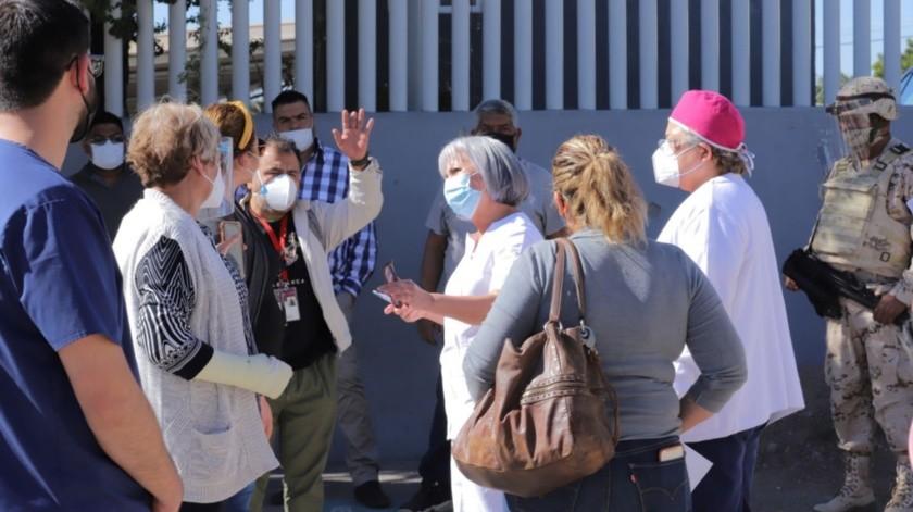 Los siete hospitales del Estado que atienden la pandemia registran 74% de ocupación.