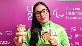 Rebeca Valenzuela va por su tercera participación paralímpica.