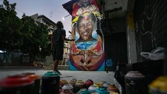 VENEZUELA-ARTISTA DEL GRAFITI