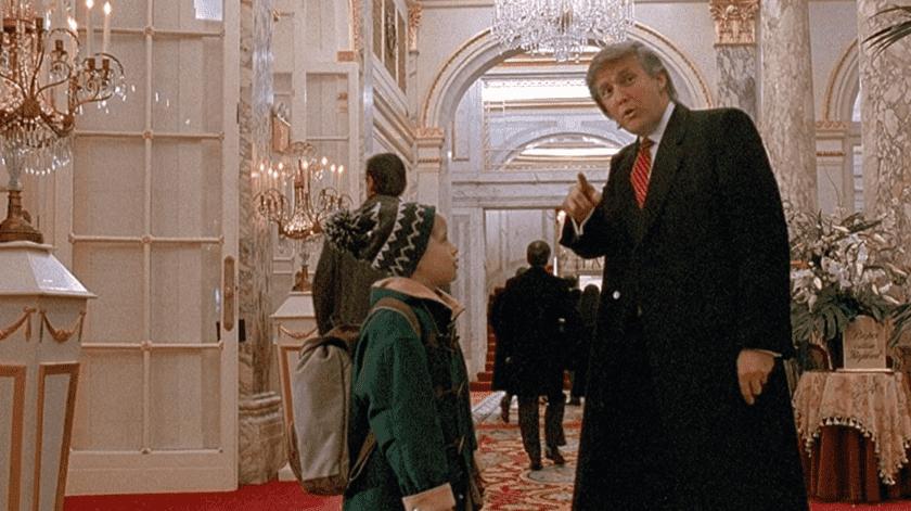 """Trump tiene un breve cameo en la secuela de """"Mi Pobre Angelito"""".(Tomada de la red)"""