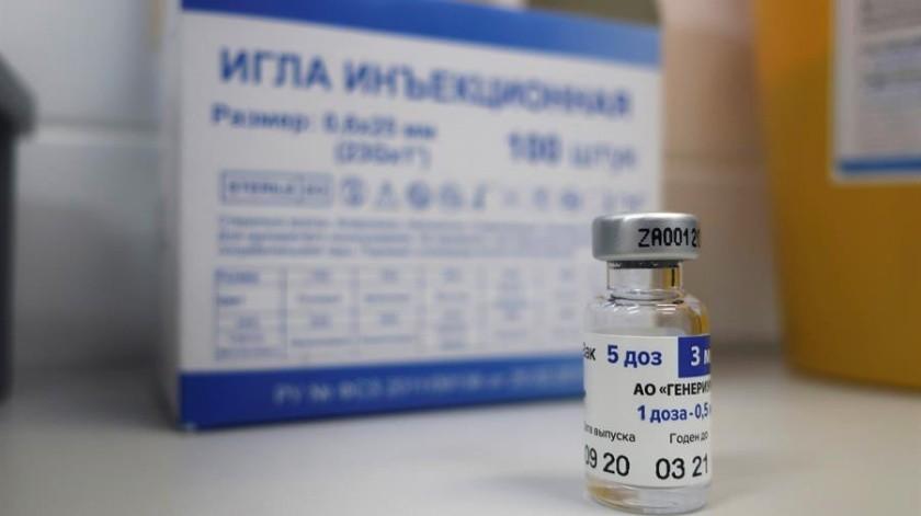 """El Kremlin ha denunciado la competencia desleal y """"ataques desaforados"""" contra la vacuna rusa, la primera en ser registrada en agosto del pasado año.(EFE)"""