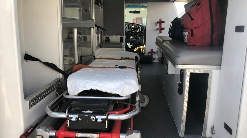 Policías municipales ya tienen su propia ambulancia(Cortesía)