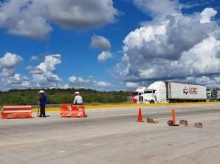 Regresa bloqueo carretero Yaqui de La Loma de Guamúchil