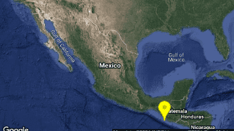 Ocurre sismo de 5.8 grados en Hidalgo, Chiapas