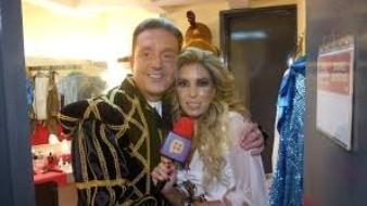 Andrea Escalona recuerda con cariño la relación que tuvo con el presentador Daniel Bisogno.
