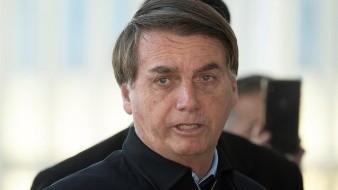 Al presidente de Brasil Jair Bolsonaro le fue restringido un tuit sobre Covid