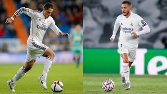 El mexicano dejó mejores números que Eden Hazard en Real Madrid con casi la misma cantidad de partidos.