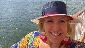 Andrea Escalona reveló el secreto a Mara Patricia Castañeda.