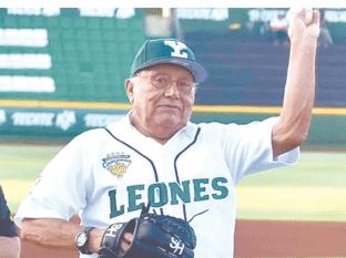 Fallece leyenda del beisbol mexicano
