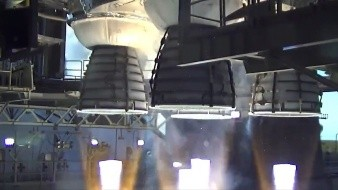 NASA realiza una prueba del núcleo del cohete más potente que jamás ha construido