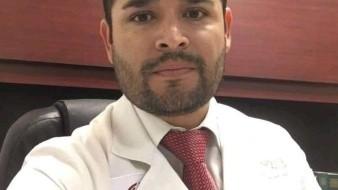 El doctor Christian Iván Bernal Guardado falleció este domingo a causa de un infarto