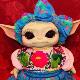 Con pestañas y vestimenta mexicana, Baby Yoda es ahora Baby Tacos de Canasta