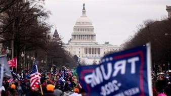 EU: Falsa alarma en el Capitolio por un incendio en sus proximidades