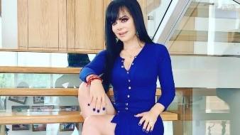 Maribel Guardia presume su cintura en redes sociales