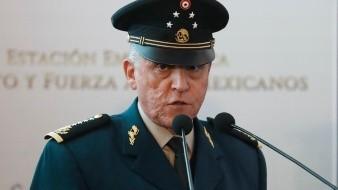 General Salvador Cienfuegos Zepeda, exsecretario de la Defensa Nacional