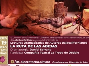 Promueve SC obra de dramaturgos bajacalifornianos con ciclo de lecturas dramatizadas