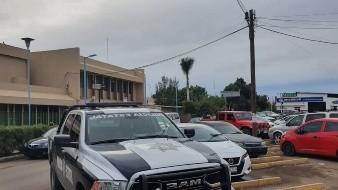 Guardias de IMSS Navojoa fueron amenazados con arma en robo de tanques de oxígeno
