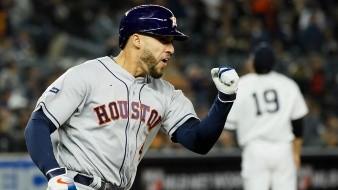 Por primera vez en su carrera, George Springer jugará con otro uniforme que no sea el de Astros de Houston.