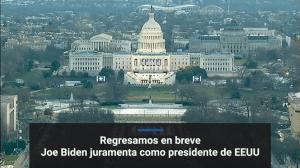 Toma posesión Joe Biden como presidente de Estados Unidos