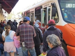 Por segundo día consecutivo reportan fallas en transporte público de Hermosillo
