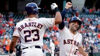 Michael Brantley se quedará con Astros de Houston por dos temporadas más, quien estuvo muy cerca de firmar con Blue Jays.