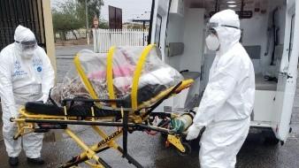 Continúan traslados a hospitales por Covid-19, a pesar de las lluvias