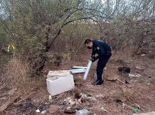 Localiza Policía Estatal de Sonora siete cilindros robados de IMSS Navojoa
