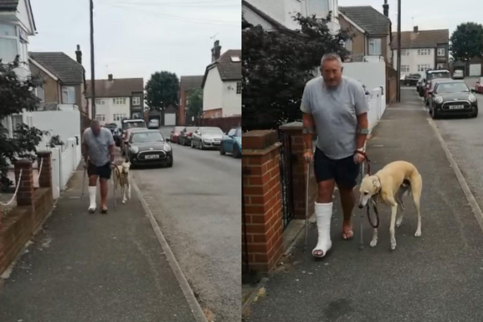 El dueño de un perrito se llevó una gran sorpresa cuando lo llevó a un veterinario.