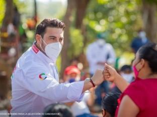 El sobrino de 'Alito' Moreno, presidente nacional del PRI aspira a la gubernatura de Campeche
