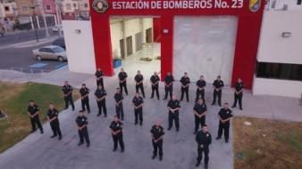 Agradece Marina vacunación de bomberos que combaten Covid