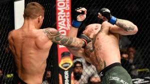 Los puños de Dustin Poirier noquearon a McGregor por primera vez en la historia.