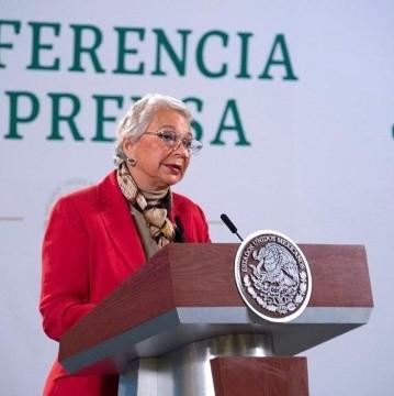 Agradece Sánchez Cordero a presidentes del mundo y al pueblo de México apoyo a AMLO